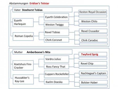 Stammbaum Eridian's Telstar